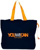 Bagforever Youwecan Navy Blue Multi-Utility Shopping Bag Shoulder Bag Blue