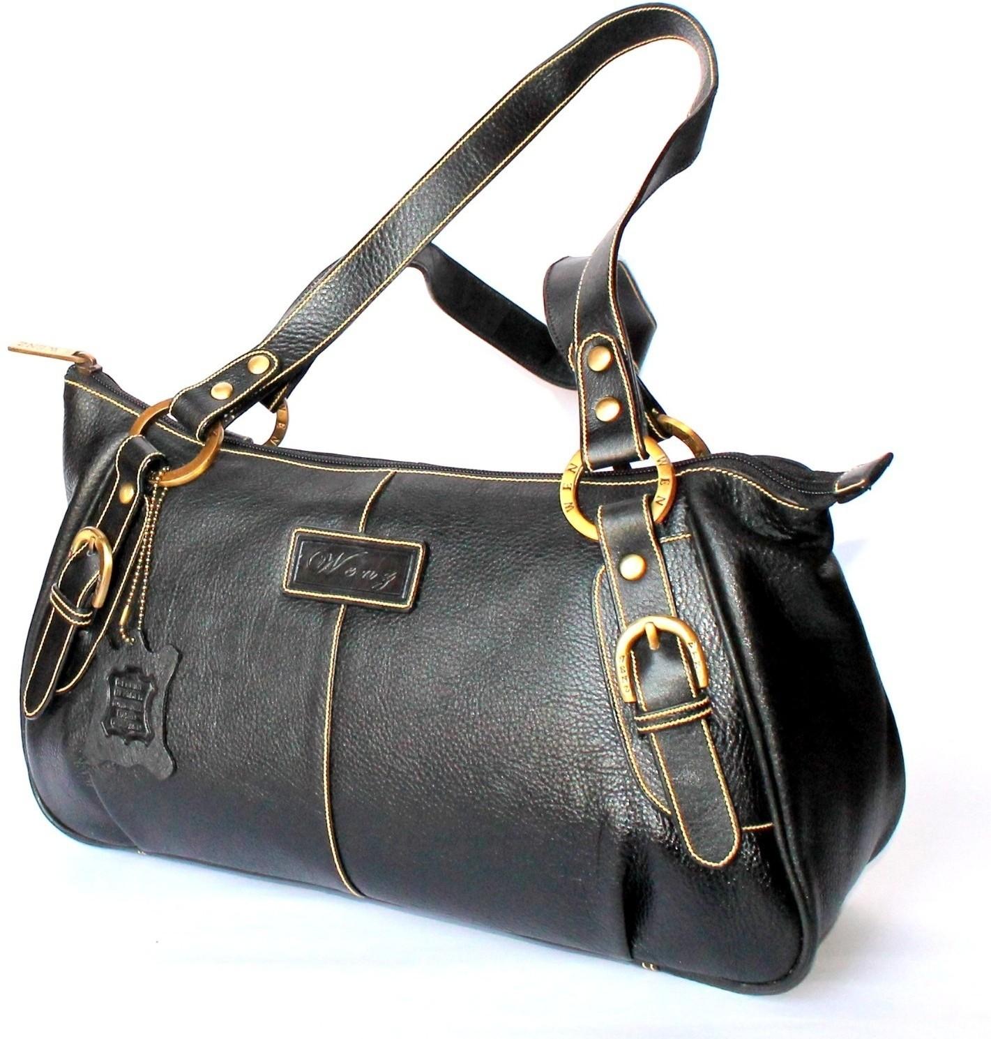 Buy StonKraft Designer Branded Genuine Pure Leather Ladies Baguette  Shoulder Bag Shoulder Bag Black   ₹ 2950 by StonKraft from Flipkart  cecbd37980093
