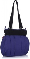 Home Heart College Girl Hand-held Bag - Blue, Black