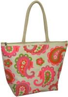 Earthbags Paisley Print Hand-held Bag Pink