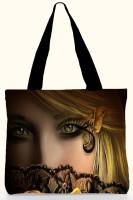 Active Elements Superb Both Side Multicolor Printed Bags. For Daily Casual Use. D. No. - BAG-17200 Shoulder Bag - Black-01
