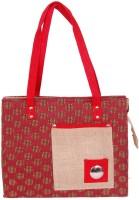 Womaniya Handicraft Jute Shoulder Bag (Multicolor)
