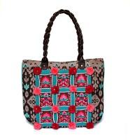 Shaun Design Shoulder Bag Brown