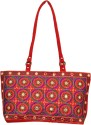 Shilpkart Ethnic Embroidery Hand Bag - Red