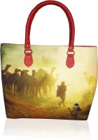 JAJV Vj Tot Raj Hand-held Bag - Maroon