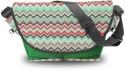 Atrangee Acoma Aztec Messenger Bag - Green, Black