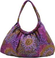 Anekaant Flora Hand Bag Purple