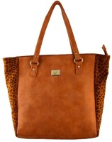 Lizzie Hand-held Bag Tan, Orange