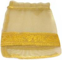 Kriti Creations Designer Gifting Bags Pouch Potli Golden