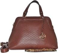 Fashion Lounge Snake Skin Design Hand-held Bag (Brown02)