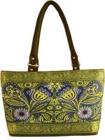 Shilpkart Digital Floral Printed Shoulder Bag Military Green