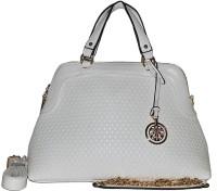 Fashion Lounge Snake Skin Design Hand-held Bag (white03)