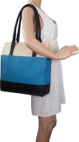 Toteteca Bag Works Colorful Shopper Shoulder Bag - Denim Blue