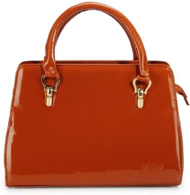 Calvino Calvino Women CL_206 Hand-Held Bag (Brown)