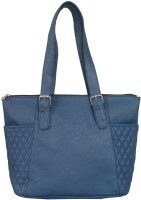 Toteteca Bag Works Quilteralla Shoulder Bag - Navy Blue