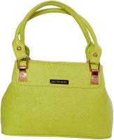Womaniya Ethnic Hand-held Bag Parrot Green