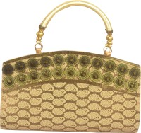Freddys Ethnic Stone Work Hand-held Bag (Multicolor)