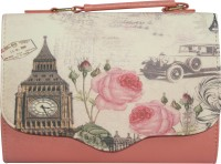 Inspired Livingg Peach Vintage Big Ben Hand-held Bag (Peach)