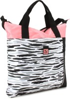 Puma Hand-held Bag White, Salmon Rose