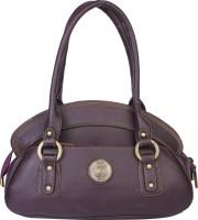 Classic Purse Hand-held Bag Dark Purple