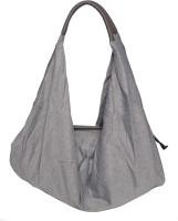 Tonino Leathers Cotton Cloth Jhola-Hb04 Hobo Grey
