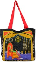 Mad(e) In India Maharaja-Maharani Tote - Black