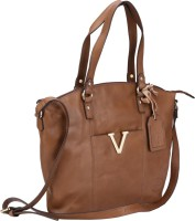 Valentino Valentino Genuine Leather Beige Color Medium Size Womens Hand Bag Shoulder Bag Beige