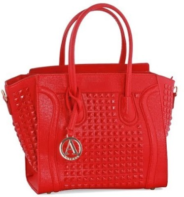 Abrazo Celine Hand-held Bag Red on Flipkart, Amazon, Snapdeal ...