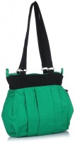 Home Heart College Girl Hand-held Bag - Green, Black