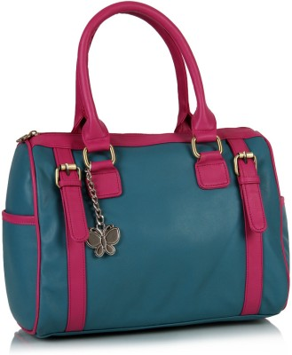 Blue and Pink Color Trendy Hand Bag for Women at Extra 30% Off