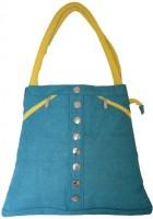 Earthen Me BBJ146 Hand-held Bag (Blue)