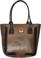 Zikha Ultra Spacious Hand-held Bag - Brown-02