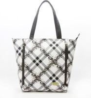 DHC Shopper Shoulder Bag White, Black, Grey