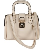 Thegudlook Alexia Hand-held Bag (Cream)
