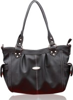 Fostelo Sophisticated Leather Hand Bag Grey