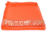 Kriti Creations Designer Gifting Bags Pouch Potli Orange