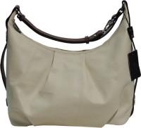 Mex Women Leather Bag Hobo (Beige)