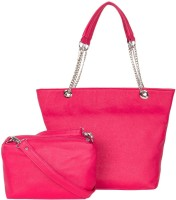 ADISA Shoulder Bag Hot Pink