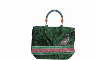Bag Berry Crushees Hand-held Bag - Green