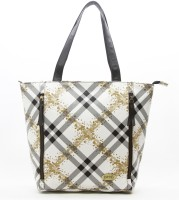 DHC Shopper Shoulder Bag - White, Black, Yellow