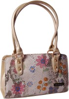 Womaniya Ethnic Silver Rose Collection-127 Hand-Held Bag Multicolor