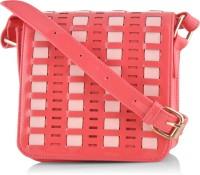 Butterflies Designer Sling Bag Pink
