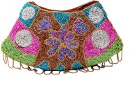 Saashiwear Ethnic Hand-held Bag Multicolor