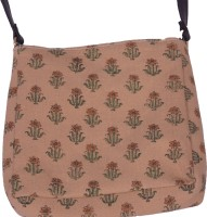 Chhipa Prints Long 1030 Sling Bag (Brown)