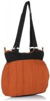 Home Heart College Girl Shoulder Bag (Black, Mustard)