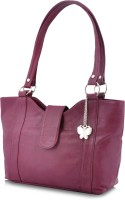Butterflies Trendy Hand-held Bag - Purple