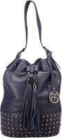 Phive Rivers Women Leather-PR909 Shoulder Bag Blue