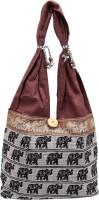 Rastogi Handicrafts Shoulder Bag Brown, Brown Jh-Ele-Brown