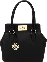Elespry Top Handle Shoulder Bag (Black)