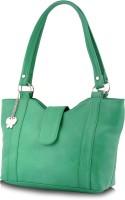 Butterflies Trendy Hand-held Bag - Green